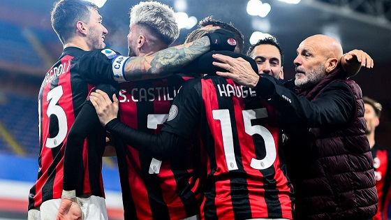 You can watch AC Milan live streams on Sky Sport